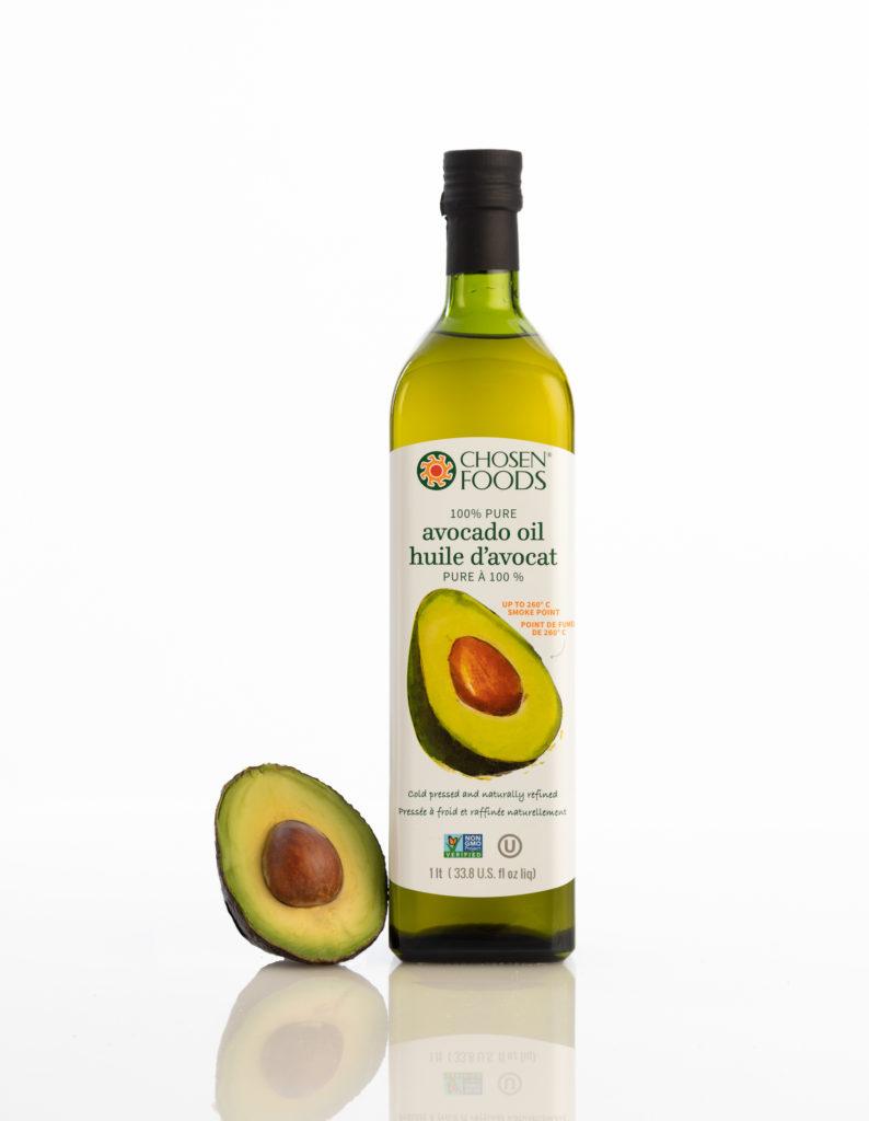 image of avocado oil bottle