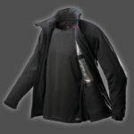 Black Jacket Product Shot