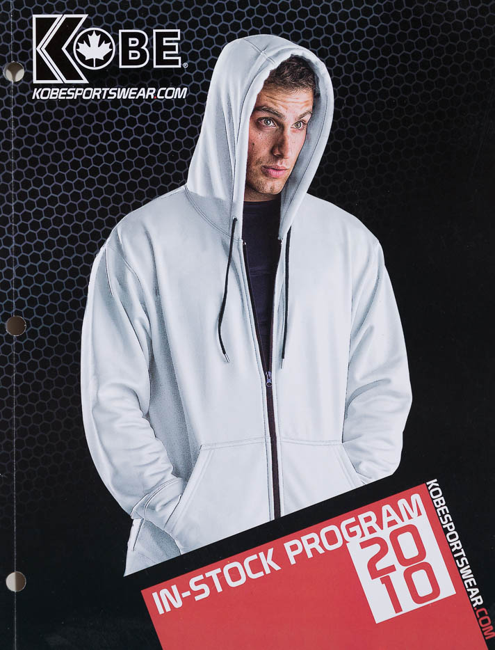 Catalogue Cover - Sportswear - Male Model