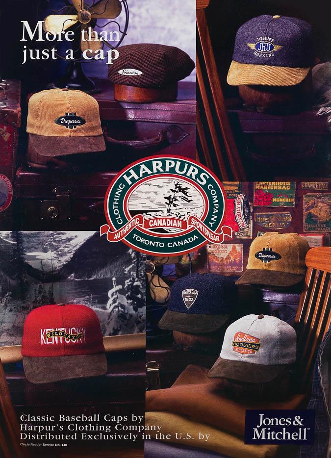 Caps - Trade Ad