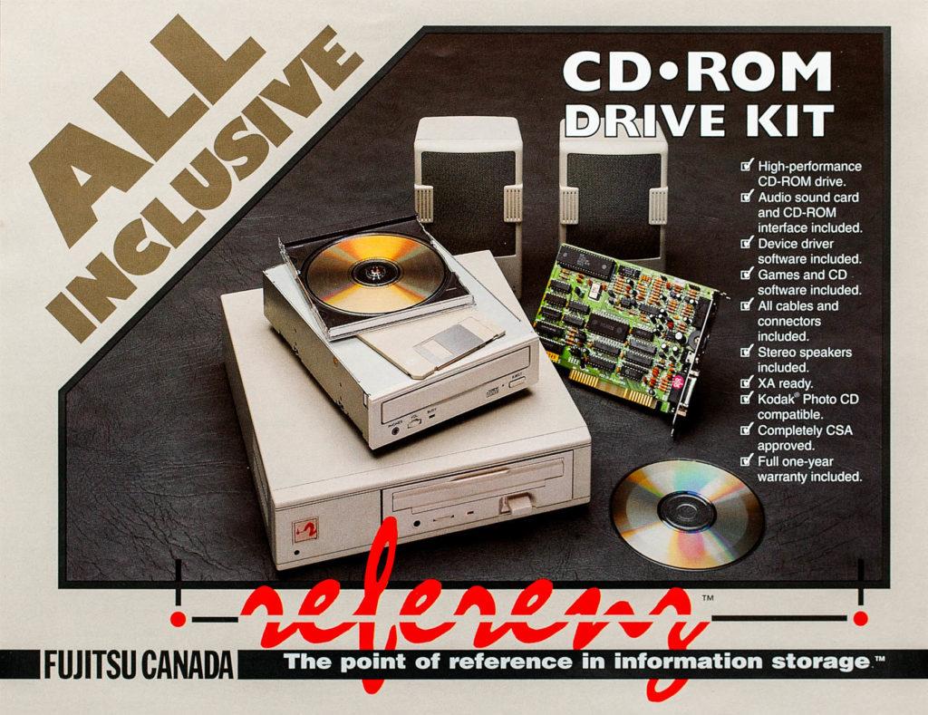 Computer Print Ad CD ROM Kit