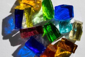 glass chunks