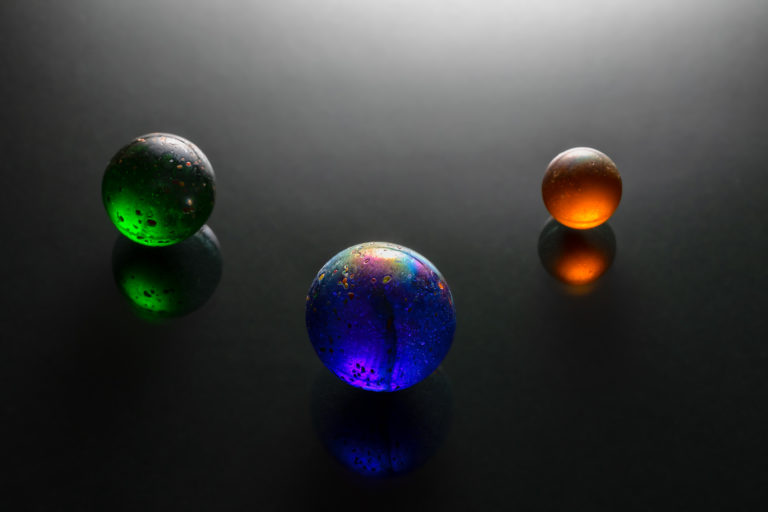 fine art image - three spheres