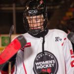 CWHL hockey player - CWHL All-Stars vs NHL Alumni Game