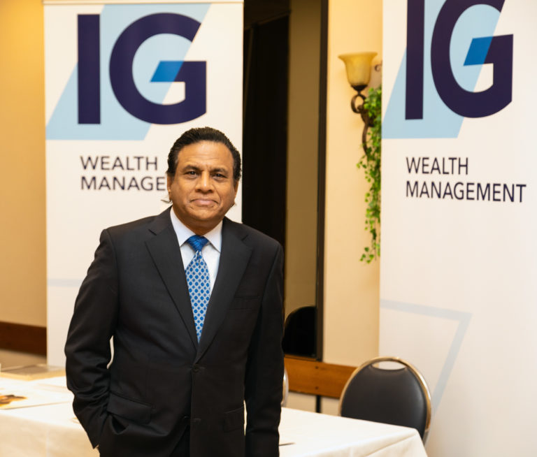 IG Wealth Management Executive Portrait